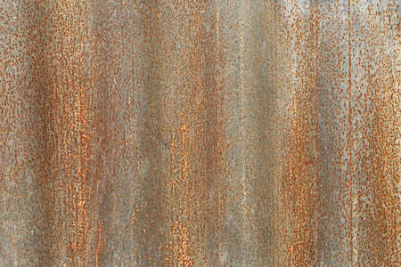 corrugated iron: rusty corrugated iron background, full frame