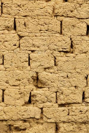 adobe wall: