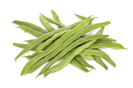 frijoles: montón de judías verdes cocidas en blanco