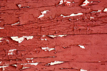 chipped paint: macro of old wooden surface with chipped paint Stock Photo