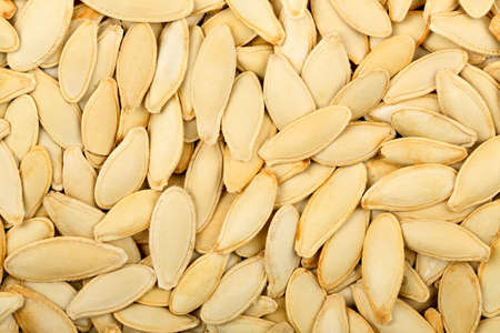 many pumpkin seeds for backgound use Zdjęcie Seryjne - 50650609