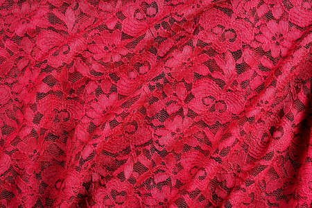 folds: red lace with abstract folds for backgrounds