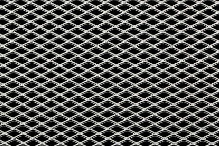 hard alloy: metallic mesh on black for background use