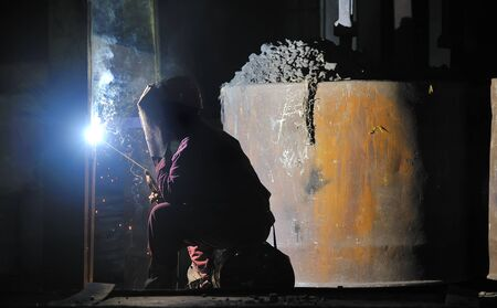 Welder man photo