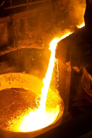 furnace: Hot steel