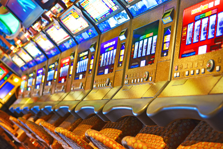 machines: Slot Machine Stock Photo