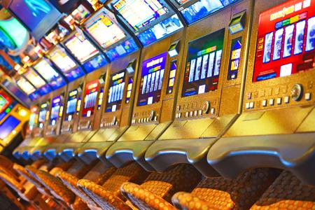 Slot Machine Reklamní fotografie