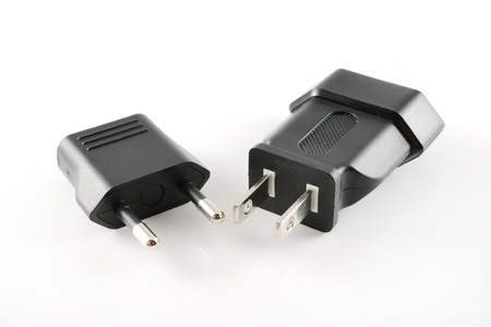adapting: Adapting plug Stock Photo