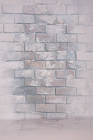 Abstract background with old brick wall - fake Background  photo