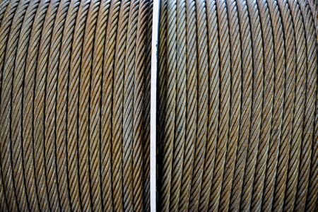 coil: Thick wire coil Stock Photo