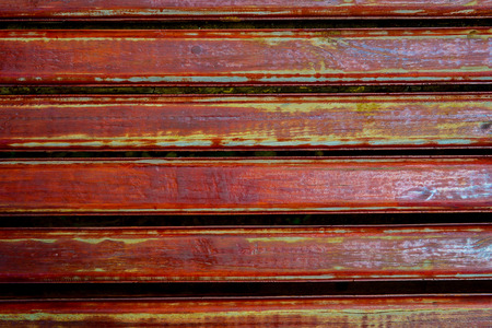 peeling paint: Wooden bench with peeling paint