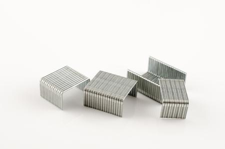 staples: Isolated staples Stock Photo
