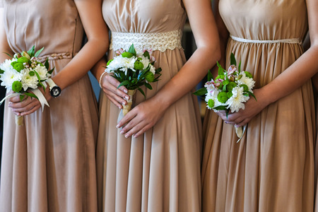 Beautiful bridesmaid bouquets