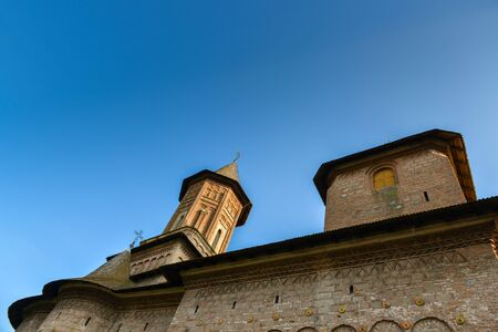 arhitecture: Impresive church with old arhitecture Stock Photo