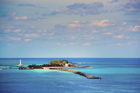 islet: Astonishing islet with a lighthouse