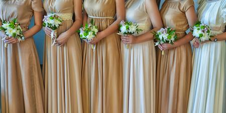 bridesmaid: Beautiful bridesmaid bouquets