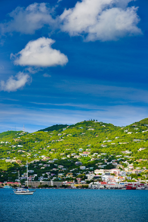 thomas: Sunset in St. Thomas from Carnival Cruise