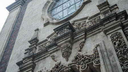Low Angle View of a Beautiful Arch on a Building with Byzantine Architecture