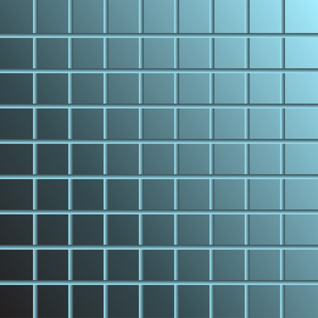 ceramic: Baldosas de cer�mica azul de fondo abstracto Vectores