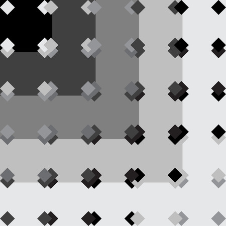 Black and white pattern geometric Vector