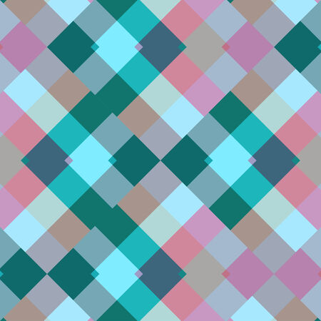 pastel colored: Pastel colored colorful seamless pattern geometric squares