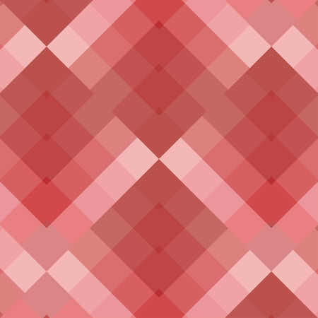 pastel colored: Pastel colored red seamless pattern geometric squares