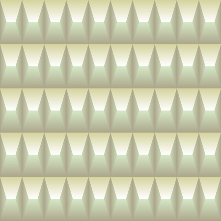 pastel colored: Pastel colored geometric pattern seamless in the pyramid shape three dimensional. Light background
