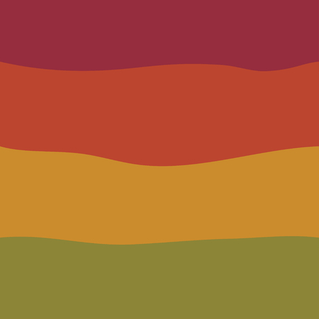 antiquated: Wave seamless striped abstract background vintage colored vector