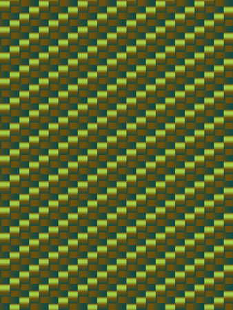 weave: Green weave texture, geometric seamless background