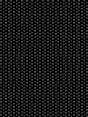 synthetic: Black texture synthetic fiber, geometric seamless background Illustration