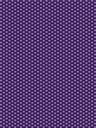 synthetic fiber: Purple texture synthetic fiber, geometric seamless background Illustration