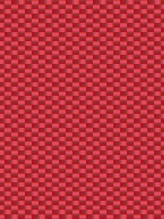 synthetic fiber: Red weave texture synthetic fiber, geometric seamless background