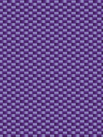 synthetic fiber: Purple weave texture synthetic fiber, geometric seamless background Illustration
