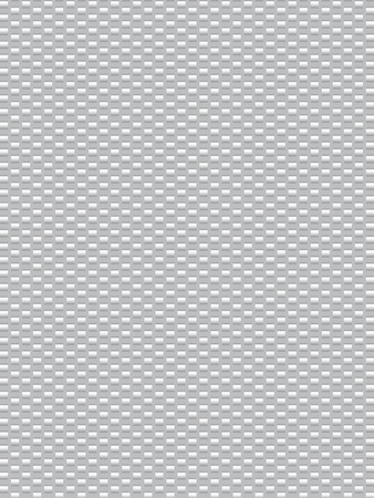 synthetic: White texture synthetic fiber, geometric seamless background Illustration