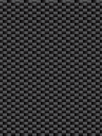 synthetic fiber: Black weave texture synthetic fiber, geometric seamless background