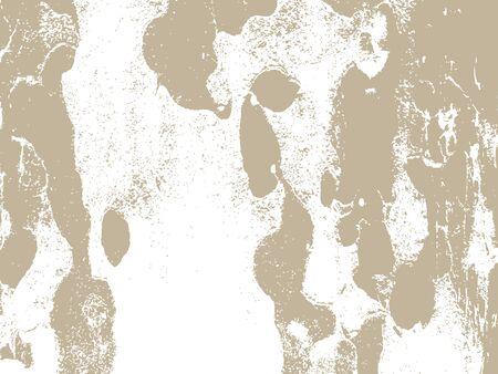rinds: Bark close up texture vector illustration. Beige colors