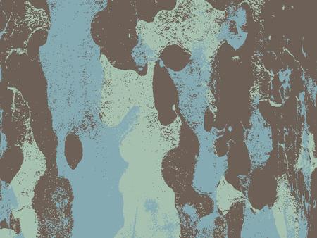teak: Bark close up texture vector illustration. Blue light colors