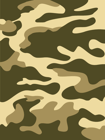 patch of light: Camouflage pattern background. Woodland style. Vector illustration
