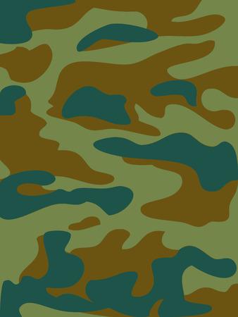 dark olive: Camouflage pattern background. Woodland style. Vector illustration