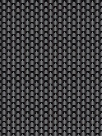 brushed aluminum: Brushed metal aluminum black dark, flake texture  seamless. Vector illustration Illustration