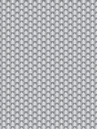 brushed aluminum: Brushed metal aluminum, flake texture  seamless. gray illustration Stock Photo