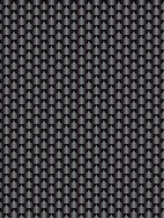 brushed aluminum: Brushed metal aluminum black dark, flake texture  seamless. black illustration