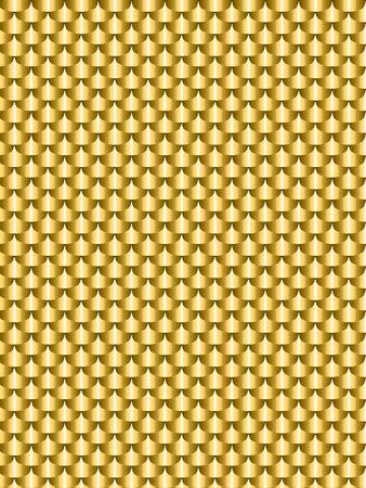 gold metal: Brushed metal gold, flake texture seamless.  illustration