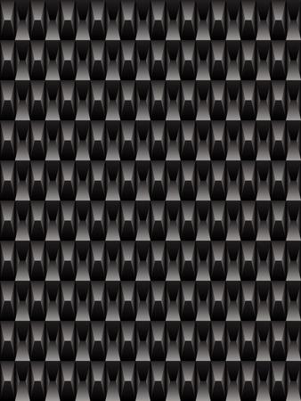 interweaving: Black texture, geometric seamless background
