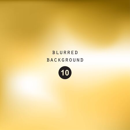 blur: Blurred abstract gradient background for web, presentations and prints. Blur gold image objects, abstraction in golden color, bright light effect holographic, soft blurry business graphic design wallpaper cover modern pattern, mesh smooth website Illustration