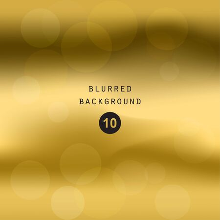 golden light: Blurred abstract gradient background for web, presentations and prints. Blur gold image objects, abstraction in golden color, bright light effect holographic, soft blurry business graphic design wallpaper cover modern pattern, mesh smooth website Illustration