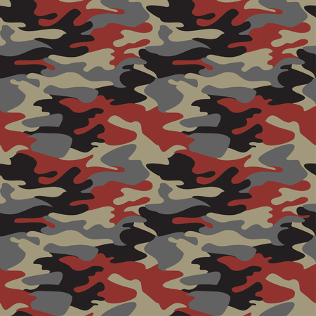 brown shirt: Camouflage pattern background seamless Illustration