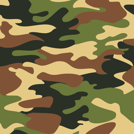 Camouflage pattern background seamless Stock Illustratie
