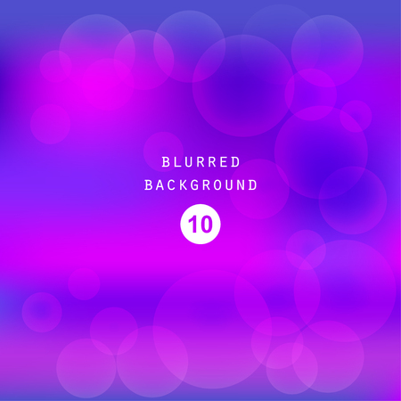 Bright colorful modern smooth juicy blue purple gradient color abstract background wallpaper. Vector illustration blurred color, blur gradient, business graphic image soft ethereal backdrop template