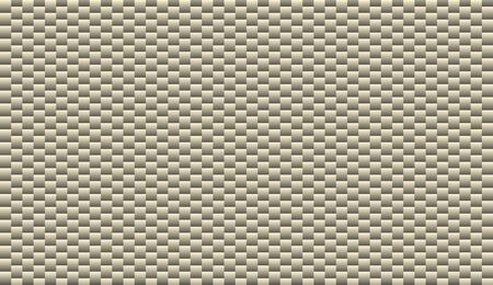 Brushed metal aluminum blocks grey and white colors, silver pattern bricks texture metallic wall, seamless virtual background for online conferences, online transmissions Foto de archivo - 150127026